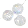 Swarovski Bead 5900 Round 14mm Aurora Borealis Crystal